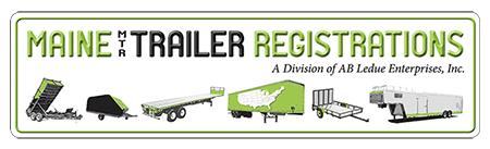 Maine Trailer Registrations