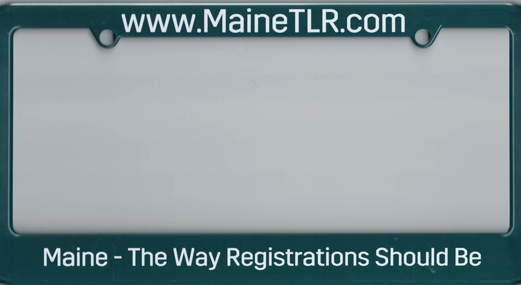 License Plate Cover